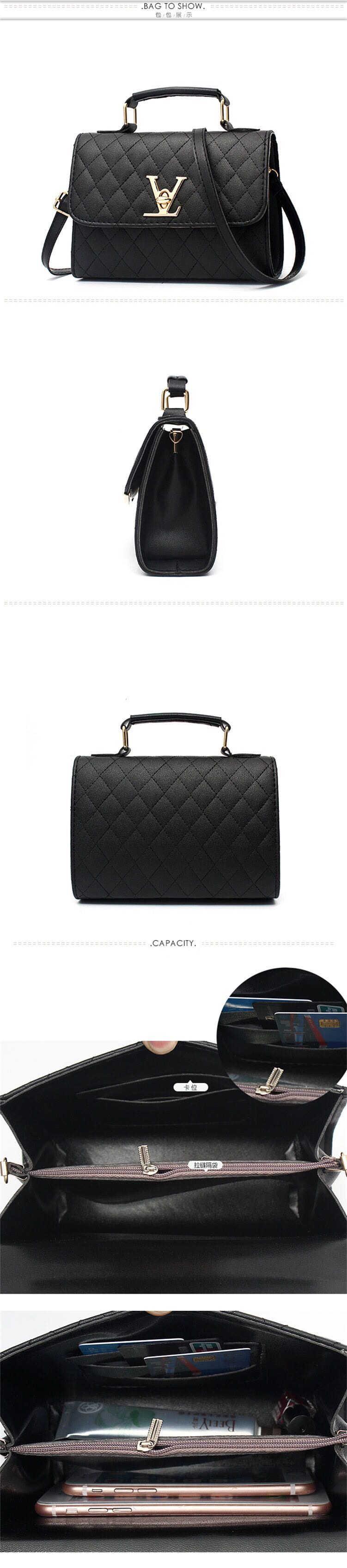 Designer Brand Ladies Quality Leather Shoulder Bag