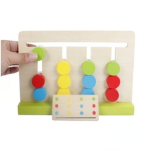 montessori Early education Educational wooden math toys for children 3 years old kids mathematics Educational toys baby toy geometry shape wooden toys for baby kids funny montessori educational toy children s toys assembly baby toy