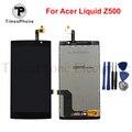 Preço de atacado lcd screen display toque digitador assembléia para acer liquid z500 frete grátis com rastreamento não e ferramenta de presentes