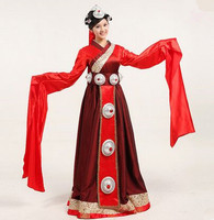 Tibetan Nationality Costumes For Women Mongolia Dress National Clothes Women National Costume China