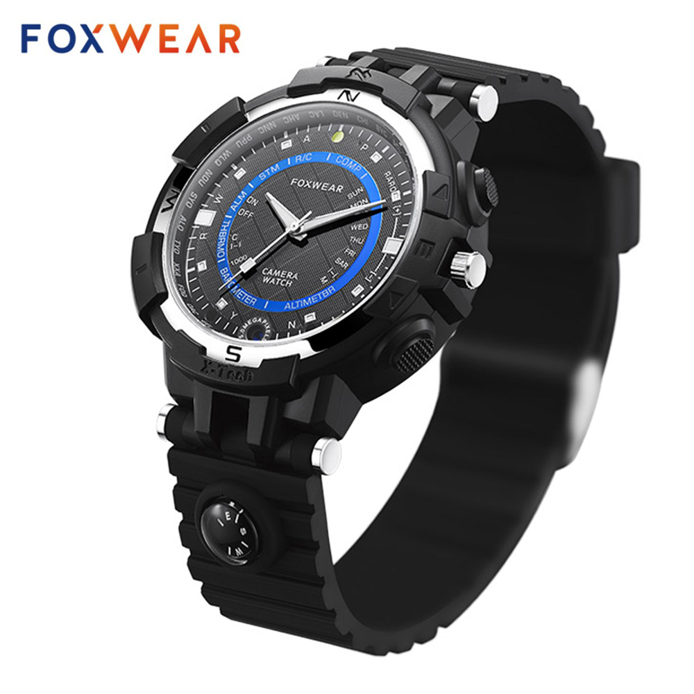 New Fox 8 Smart Camera Watch Wifi Remote Video Minitor HD Video Recorder Watch With Compass Led Flashlight For Android and IOS.New Fox 8 Smart Camera Watch Wifi Remote Video Minitor HD Video Recorder Watch With Compass Led Flashlight For Android and IOS.