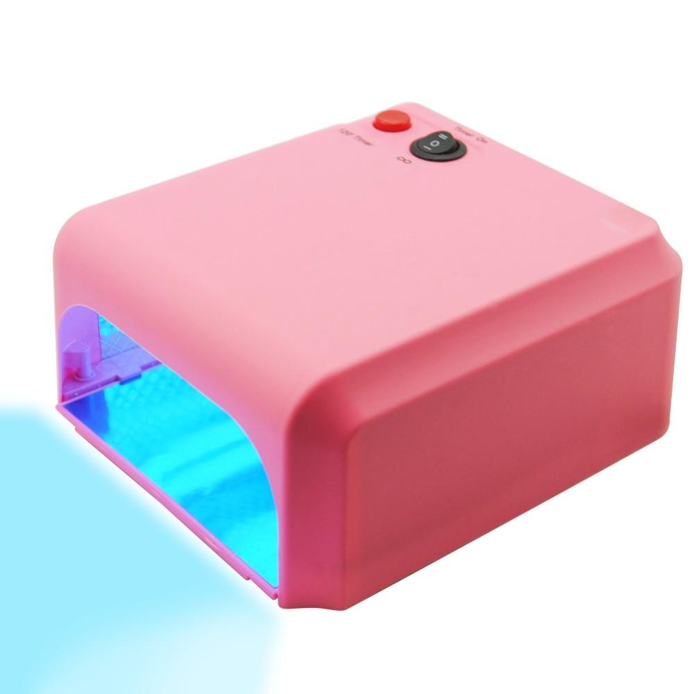 36W UV Lamp Mini Nail Dryers Lamp For Nails Manicure Machine Nail Art Lamp Dryer Nail Manicure Tools Lampa UV EU/US PLUG блесна вращающаяся blue fox shallow super vibrax bfssv s вес 10 гр