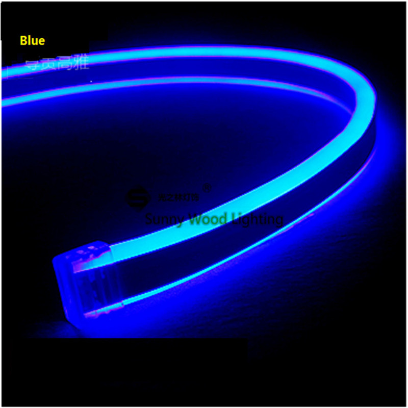 free shipping 5m roll double side lighting mini neon flex. Black Bedroom Furniture Sets. Home Design Ideas