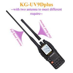 Image 2 - Wouxun KG UV9D Plus vhf uhf wielofunkcyjny Ham Radio Communciator DTMF 2 Way Radio 7 zespołów Walkie Talkie stacji dla bezpieczeństwa