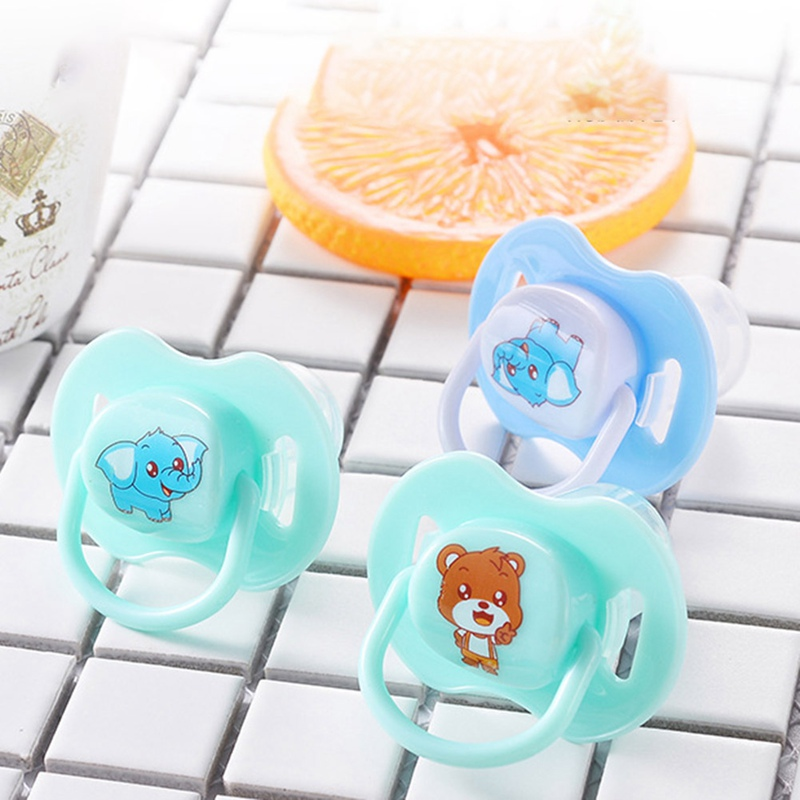 1pc Cute Cartoon Baby Newborn Food Grade Silicone Nipple Soother Pacifier Infant Orthodontic Dummy Teether Baby Pacifier Gift