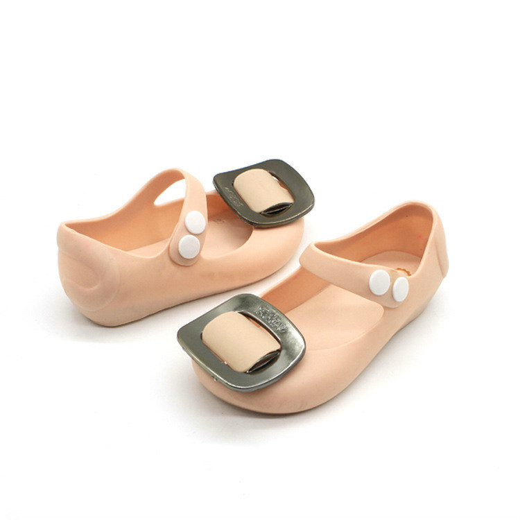 Childrens Sandals Summer New Paternity Girl Buckle Jelly Child Cartoon Lovely Princess Baby Shoes Melissa Eur 27 - 32 #2 ...