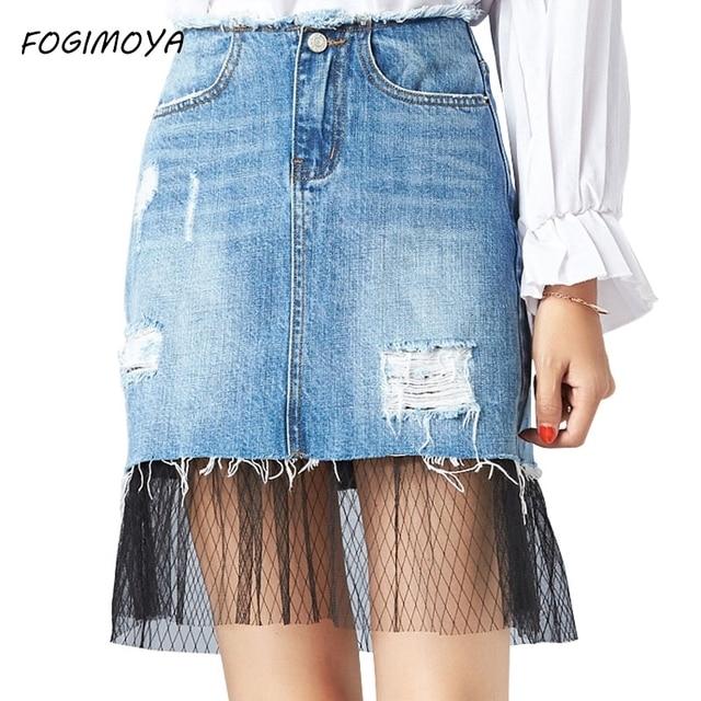 Resultado de imagen para Como Hacer Faldas con Jeans Viejos