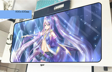 Hatsune Miku геймерский коврик для мыши на день рождения 800x400x2 мм игровой коврик для мыши гелевый ноутбук аксессуары для ПК ноутбук padmouse эргономичный коврик