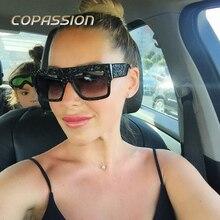 2017 Nuevo Diseño de gafas de Sol de Mujer de Marca de Lujo Espejo retro gafas de Diamantes Gafas de Sol Mujeres Shades oculos gafas de sol mujer