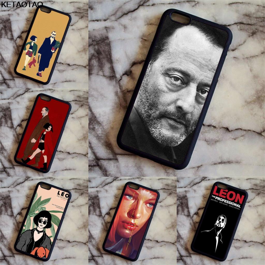 KETAOTAO Leon Matilda Natalie Portman Movie Poster Phone Cases for iPhone 4S 5C 5S 6 6S