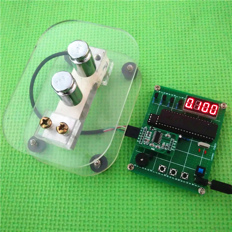 DIY load cell bracket Electronic scale design Digital Electronic weighing pressure weight measuring system with LED