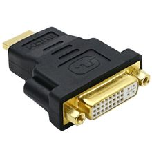 HDMI Male To DVI 24 + 5 Female Adaptor Converter HDMI Ke DVI Kabel Audio Konektor untuk HDTV DVD Komputer monitor Proyektor PS3(China)