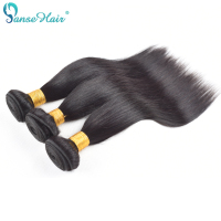 Panse Hair Straight Vietnamese Human Hair Non Remy Hair Weaving Double Weft Natural Black Customized Mixed 8 30 inch