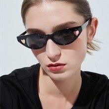 9d9caa620a6d8 Bonito Do Olho de Gato Óculos De Sol Mulheres Sexy Ladies Óculos de Sol  Mulheres Óculos de Sol Óculos de Moda Retro Pequeno .