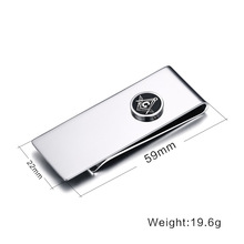 Wholesale Stainless Steel Money Clip Cash Clamp Holder For Men And Women Quality Simple Metal Money Clip Front Pocket Wallet