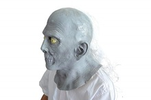 Scary Long Hair Ghost Mask Halloween Horror Zombie Cosplay Costumes Party Supplies