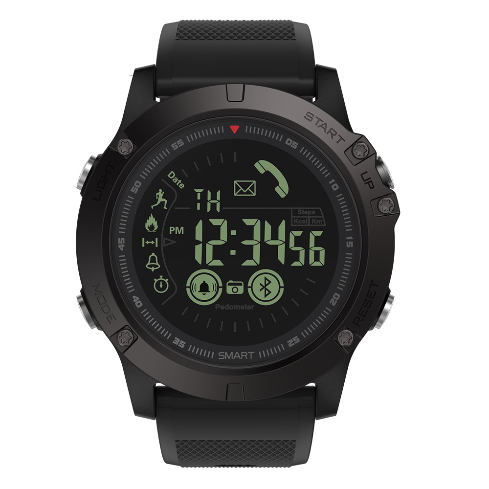 Rugged Smartwatch 24h Time 15