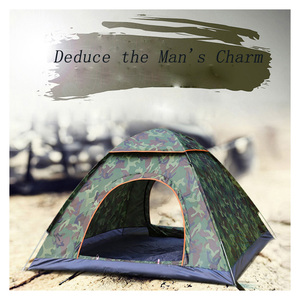 Image 2 - Tents Outdoor Camping Portable Waterproof Hiking Tent Anti UV 2/4Person Folding Pop Up Automatic Open Sun Shade Ultralight Tent