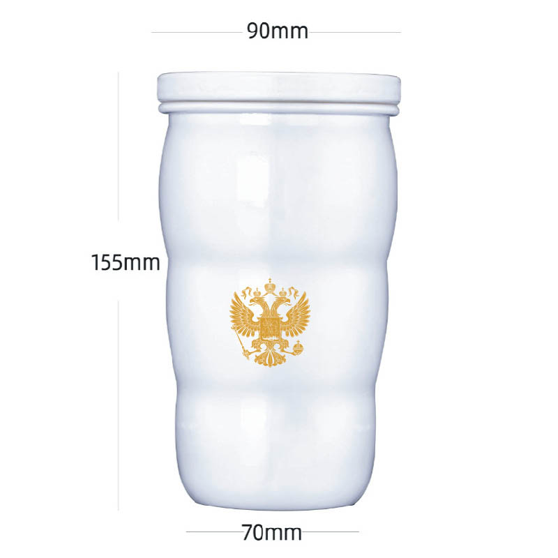 2019 New Putin Same Thermal Cup Putin president Same Mug Trump Putin G20 Toasted Thermal Cups Ceramic Cups For Home Office in Vacuum Flasks Thermoses from Home Garden