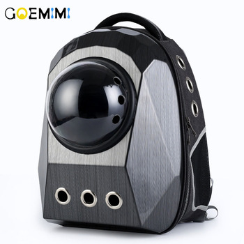 New Arrival Dog Cat Carrier Breathable Fashion Pet Space Backpacks Top Quality Window for Puppy Small Cat Dog Travel Bag