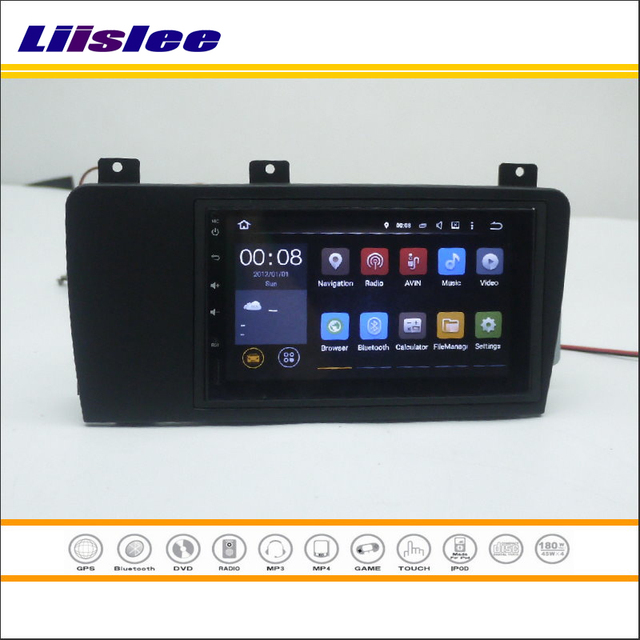 Liislee For Volvo Xc70 V70 S60 Car Radio Stereo Android Nav Navi Map Navigation Multimedia System W O Cd Dvd Player