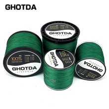 GHOTDA Brand 2017 New PE Braided Fishing Line 18-80LB 4 strands 300M 500M 1000M Multifilament Line