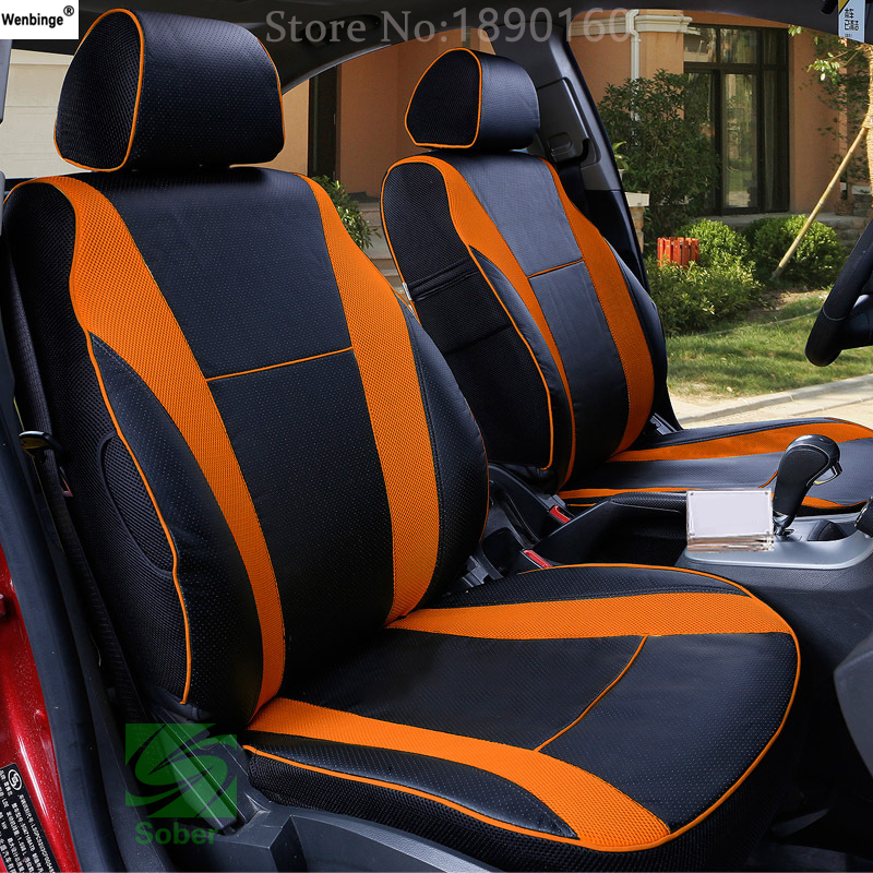 wenbinge special leather car seat covers for renault. Black Bedroom Furniture Sets. Home Design Ideas
