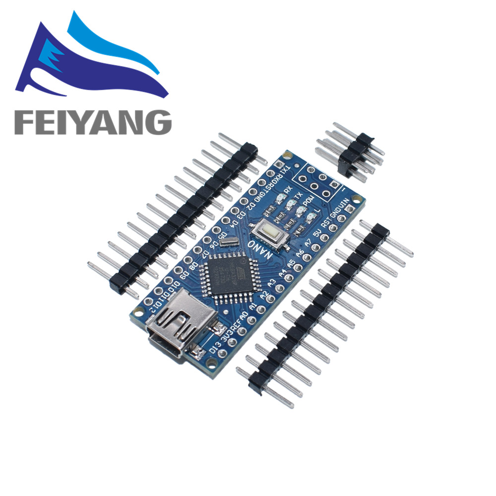 1PCS Mini USB With The Bootloader Nano 3.0 Controller Compatible For Arduino CH340 USB Driver 16Mhz NANO V3.0 Atmega328P/168P