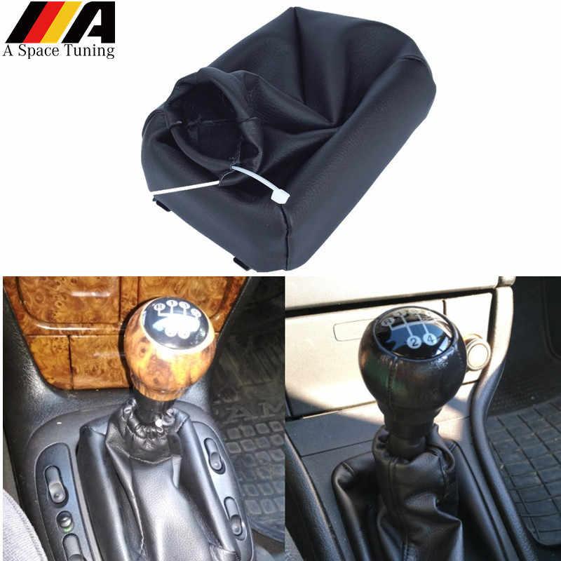 Style de voiture pommeau de levier de vitesse manuel collier de bâton guêtre housse de coffre pour Opel Astra F Vectra A Calibra Kadett E Corsa B