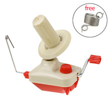 Wool Winder Yarn Ball Cakes Winder Set for Crochet Hooks Kit Hand Operated Winding Machine Sewing Accessories With Spring Guides