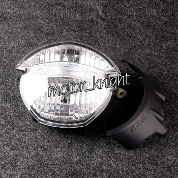 Motorcycle Headlight Headlamp Assembly For Ducati Monster 659 696 795 796 M1000 Clear Front Light