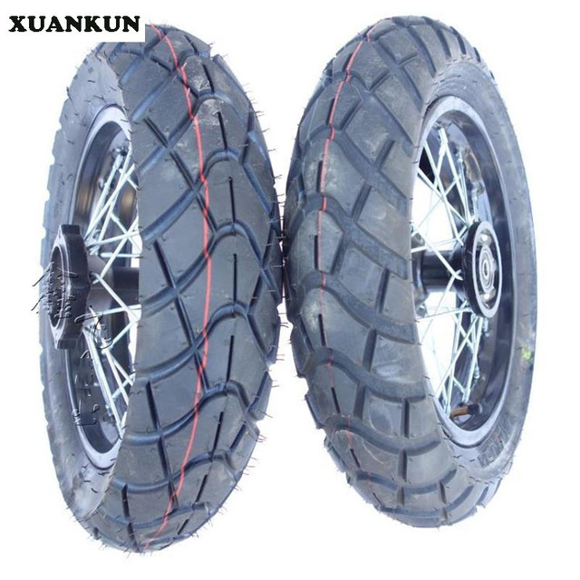 xuankun off road motorcycle road tire 120 70 12 inch. Black Bedroom Furniture Sets. Home Design Ideas