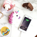 Funny Emoji Smiley Unicorn Devil Excrement Power Bank Fashion Powerbank External Battery Portable Charger For Mobile Phone