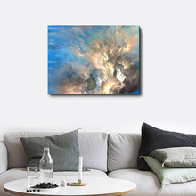 Blue Sky Sunshine Decorative Canvas Wall Artwork Poster Modern Oil Painting For Home Living Room Kitchen Decoration No Frame
