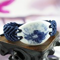 Горячие Продажа новые handmake браслеты Рождество новый год подарок веревку цепи керамические китай ветер Special дизайна моды бесплатная доставка