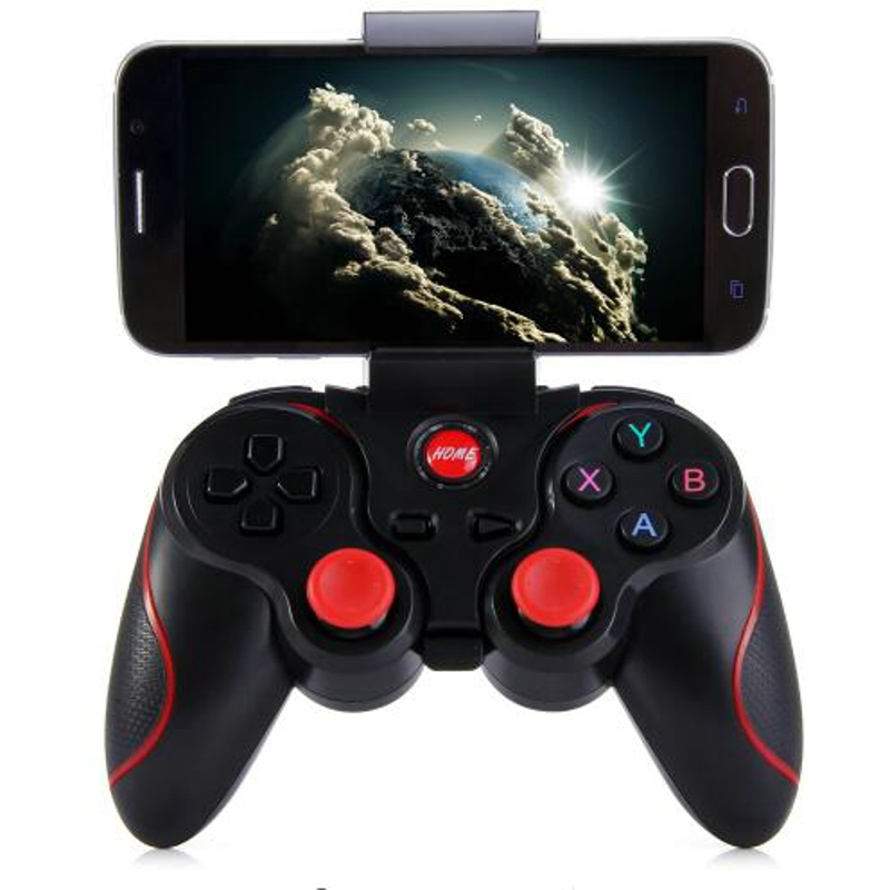 2018 VR PLUS Wireless Bluetooth Gamepad Joystick For Android Smart Phone TV Box Joystick Joypad Gaming Game Controller Console best selling usb wired game controller for xbox360 gamepad joypad joystick for xbox 360 controller slim accessory pc computer