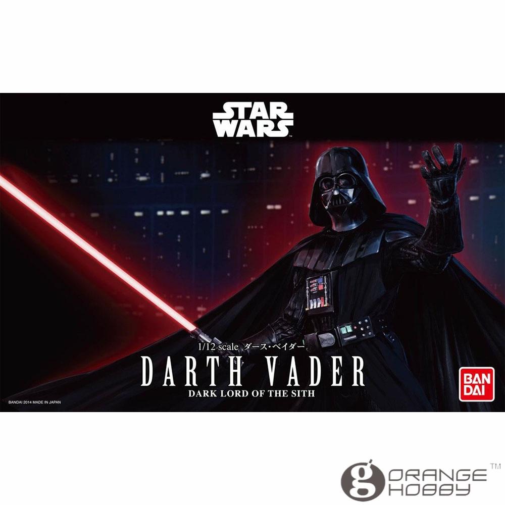 OHS Bandai Star War 1 12 Darth Vader Assembly Model Kits oh