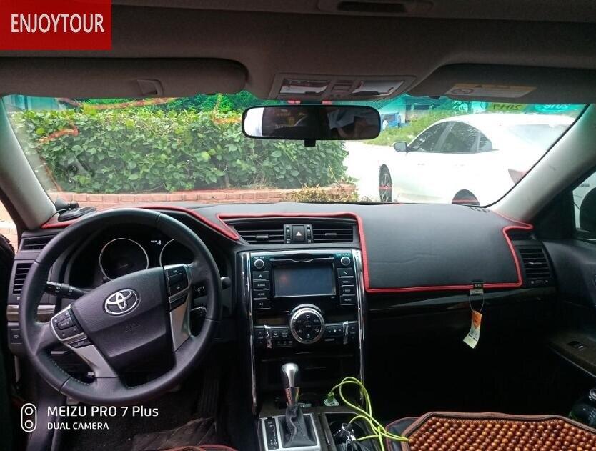 Leather Dashmats Dashboard Cover For subaru toyota nissan honda bmw audi lexus mazda Volkswagen ford SUZUKI PEUGEOT HYUNDAI KIA