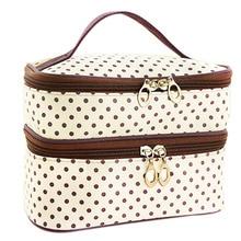 Travel Toiletry Beauty Cosmetic Bag Organizer Zipper