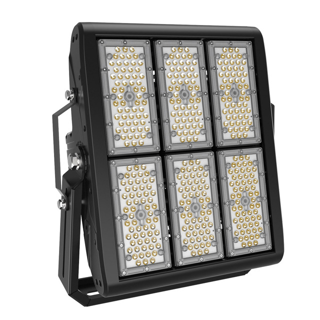 BECOSTAR 2pcs/pack outdoor square plaza Meanwell LED driver Tennies LED Flood Light 300w warranty for 5 years