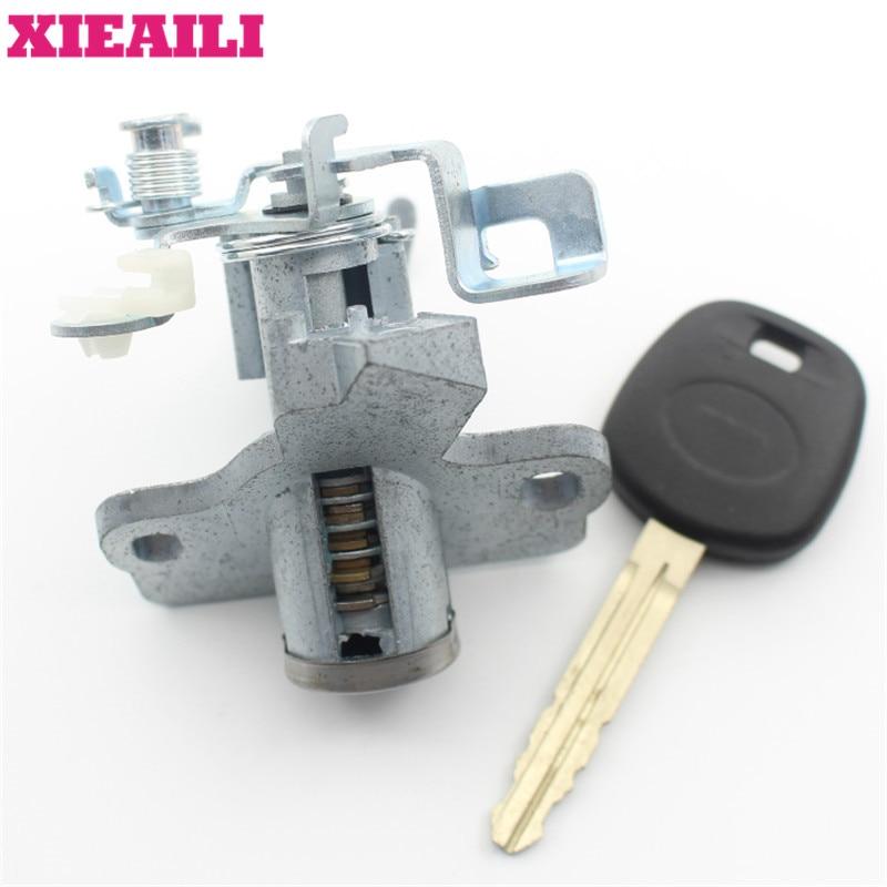XIEAILI OEM багажной замок цилиндр Авто двери замка для Toyota Camry с 1 шт. ключ M392