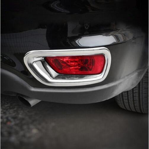Style de voiture ABS chromé avant + pare-chocs arrière - Pièces auto - Photo 3