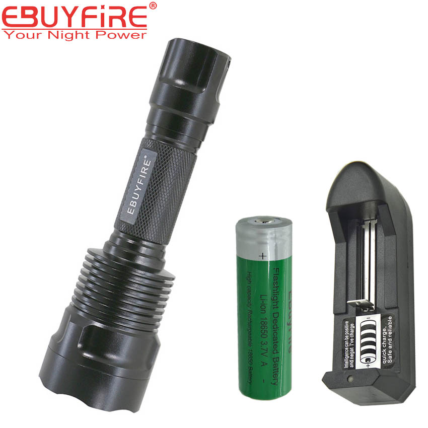 EBUYFIRE C12 18650 1500LM Flashlight CREE XPL HI V6 L2 T6 LED Torch light 5 Mode lamp torchs led XM- L2 5 Mode Camping Lamps astrolux s2 cree xpl hi 1400lm edc led flashlight 18650