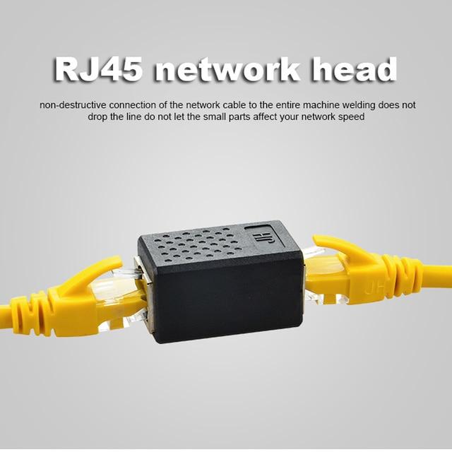 Mạng Kết Nối Adapter Cable extende 8P8C RJ45 Lan Cáp Coupler Extender RJ45 Mở Rộng Chuyển Đổi Nữ để Nữ Cat7/6 /5e