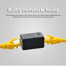 Network Connector Adapter Cable extende 8P8C RJ45 Lan Cable Coupler Extender RJ45 Extension Converter Female to Female Cat7/6/5e