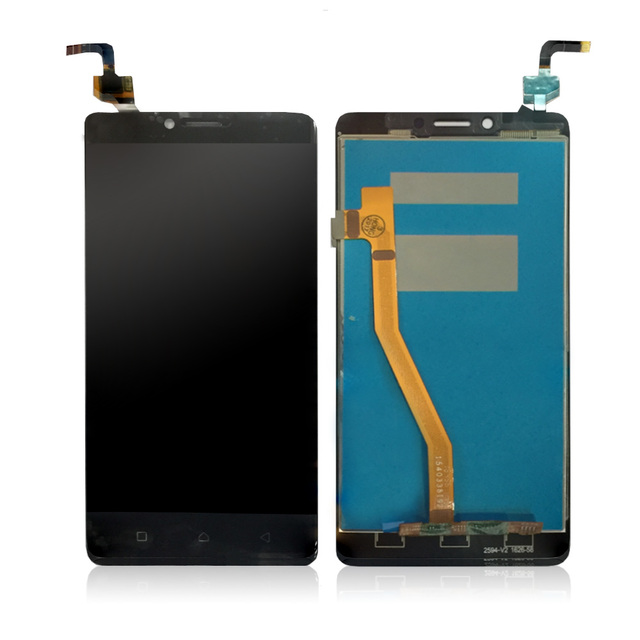 US $16 59  WEICHENG 100% New Touch Screen Digitizer Glass + LCD Display  Assembly For Lenovo K6 Note K53a48 LCD Glass Panel Sensor+Tools-in Mobile