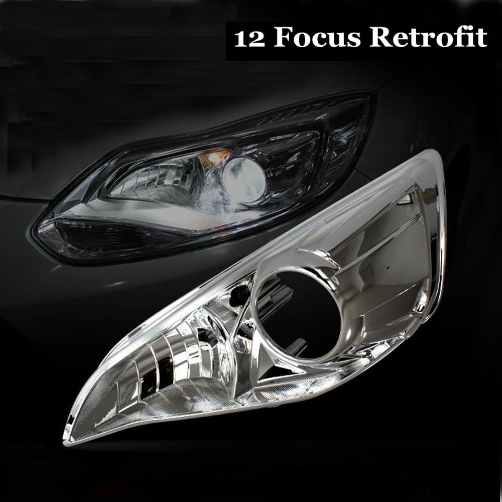 Accessoires d'assemblage de phares de voiture pour 2012 Ford Focus mis à niveau sans dommage tebay installer la lentille de projecteur HID besoin q5 hella5