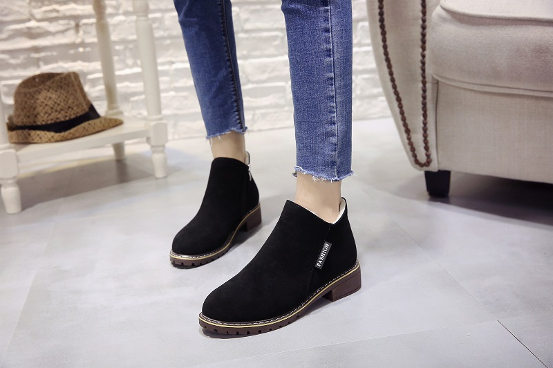 2018 new Boots Woman Shoes Winter Female Warm Fur Water-resistant Upper Fashion Non-slip Sole Free Shipping New Style Snow Boot (14)