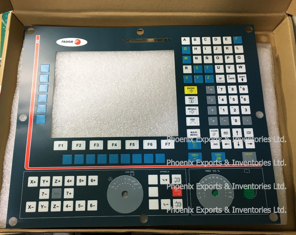 Brand New Membrane Keypad for FAGOR 8055 CNC8055i/A Operating Panel-in LCD Modules from Electronic Components & Supplies