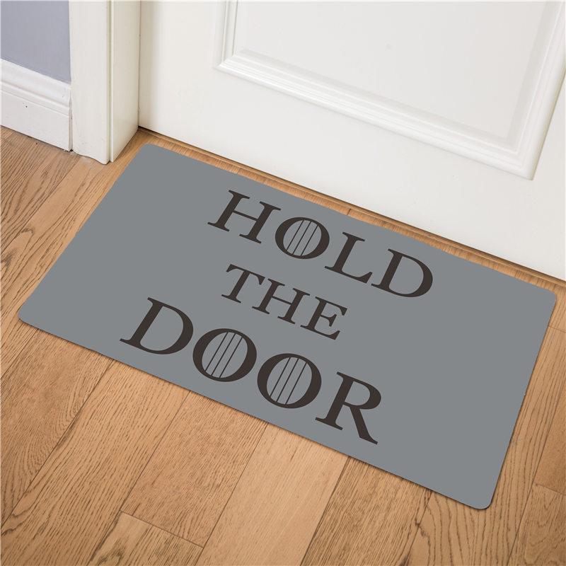 Image 2 - Enter Door Mat Kitchen Carpet Front Doormat Kitchen Rug Home Mat Indoor Non slip Bath Mats Welcome Floor Mats  46cmx75cm-in Mat from Home & Garden